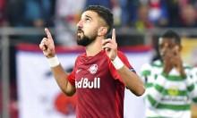 النصراوي دبور يقود فريقه للفوز بالدوري الأوروبي