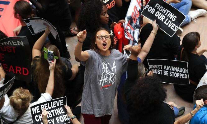 مظاهرات واعتقالات بواشنطن ونيويورك اعتراضا على كافانو