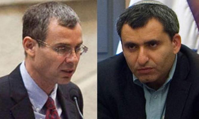 إلكين وليفين قدما إفاداتهما بالتزامن مع جلسة التحقيق مع نتنياهو