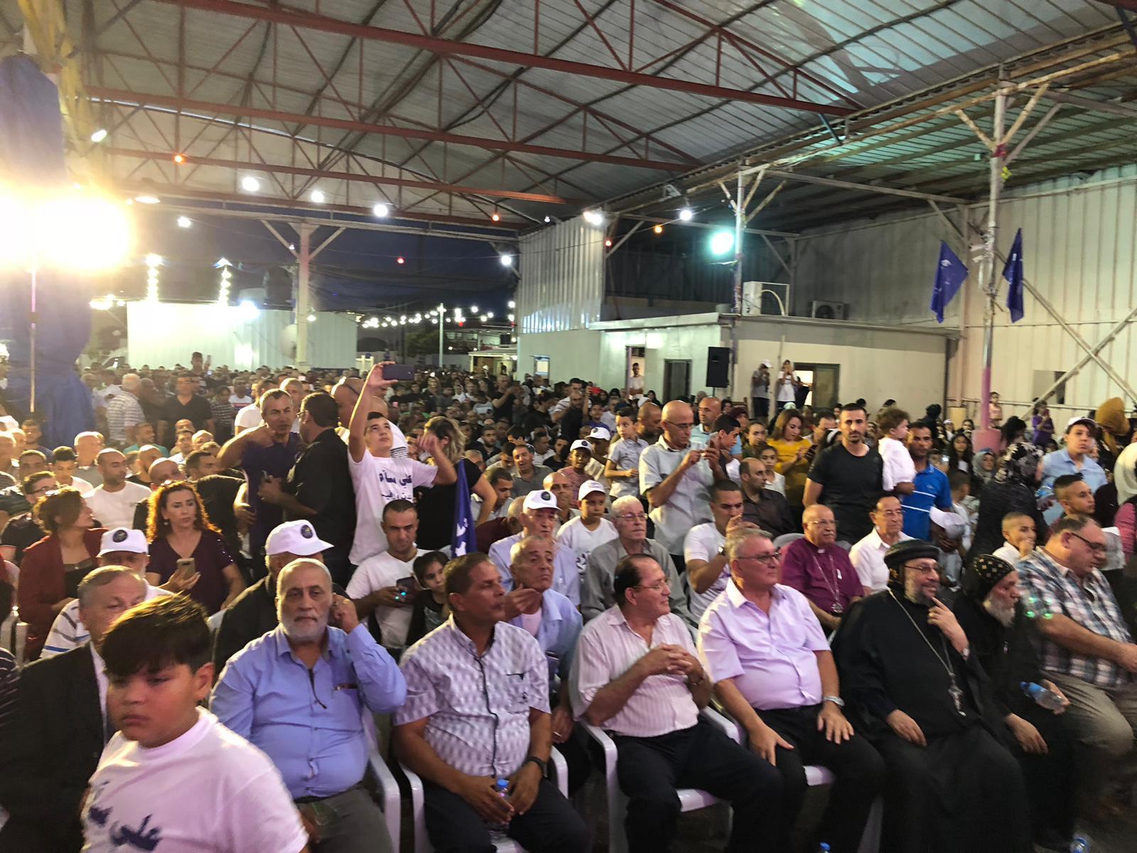 الناصرة: علي سلام يطلق حملته الانتخابية لرئاسة البلدية