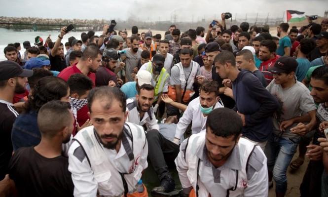 """غزة تشيع شهداء جمعة """"الثبات والصمود"""""""