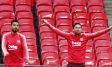 نجم برشلونة قد يغيب عن مواجهة إنتر ميلان