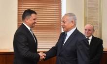 نتنياهو يبحث تعزيز التعاون مع روسيا مع نائب رئيس حكومتها