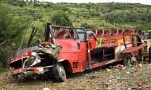 كينيا: مصرع 50 شخصا في تحطم حافلة