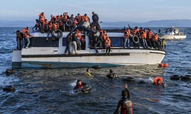 مصرع 9 مهاجرين وعشرات المفقودين قبالة ساحل بحر إيجة