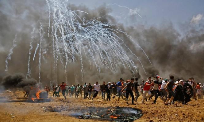 غزة: سبعة شهداء وقرابة 200 مصاب برصاص الاحتلال