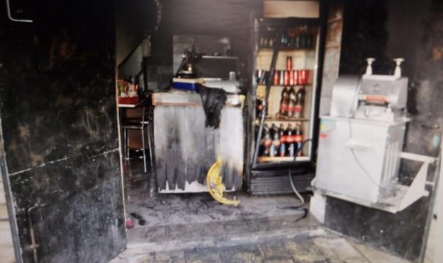 إضرام النار عمدا في مطعم بعكا القديمة