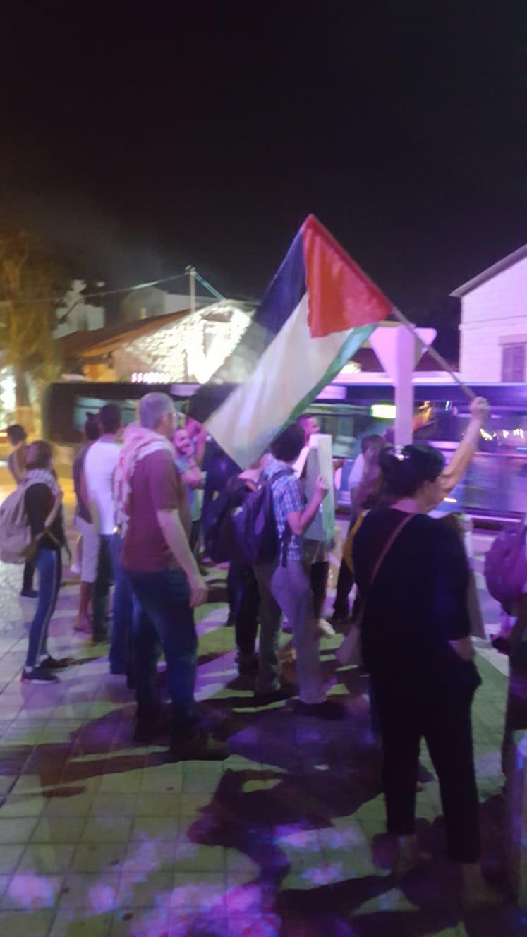 تظاهرة في حيفا احتجاجا على الاعتقالات السياسية