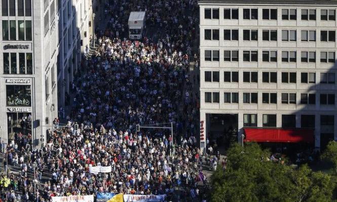 """مظاهرة حاشدة في ألمانيا ضد """"عنصرية المجتمع"""""""