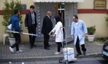 طاقم تركي سعودي يفتش قنصلية الرياض بإسطنبول