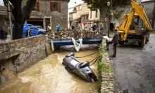 فرنسا: مصرع 13 شخصا جراء أمطار غزيرة غير مسبوقة