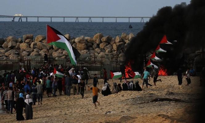 32 إصابةً بالرصاص الحيّ باعتداء الاحتلال في غزّة