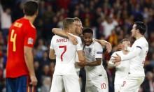 إنجلترا تصعق إسبانيا بثلاثية مقابل هدفين