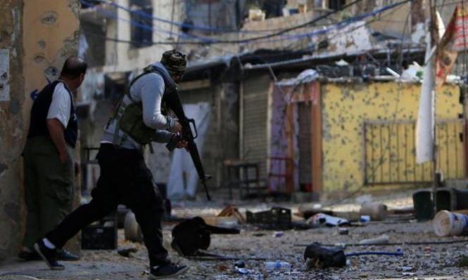 قتيلان و 15 جريحا في اشتباكات مخيم المية ومية في صيدا