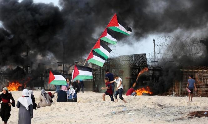 غزة: شهيد متأثرًا بجراحه وإصاباتٌ في مواجهات الليلة