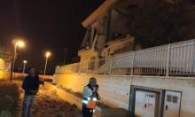 الاحتلال يقصف غزة عقب سقوط صاروخ على بئر السبع