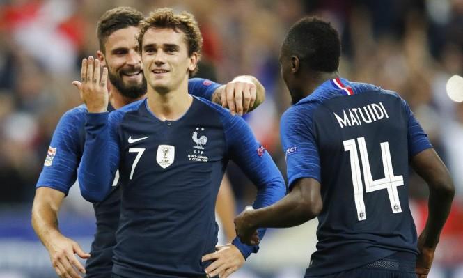 فرنسا تقلب الطاولة على ألمانيا بثنائية غريزمان