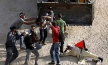إصابات في قمع الاحتلال لمسيرة الخان الأحمر