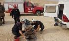 مصرع شاب فلسطيني سقط في وادي النار
