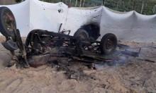 إصابتان بقصف طائرة مسيرة مجموعة مواطنين بغزة