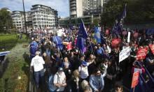 عشرات الآلاف يتظاهرون بلندن للمطالبة باستفتاء جديد حول بريكست