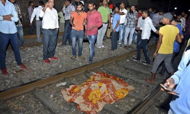 حوادث الهند: مصرع 50 شخصا دهسهم قطار