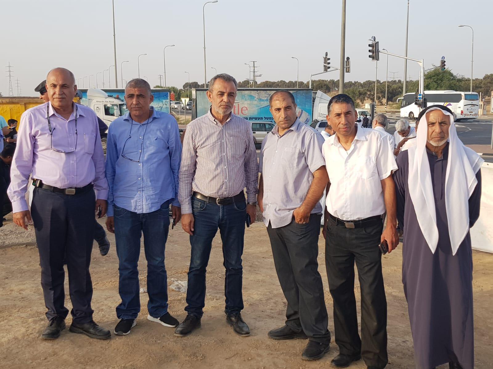 تظاهرة في النقب نصرة للعراقيب