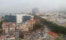 أمطار غزيرة في الجليل والشمال