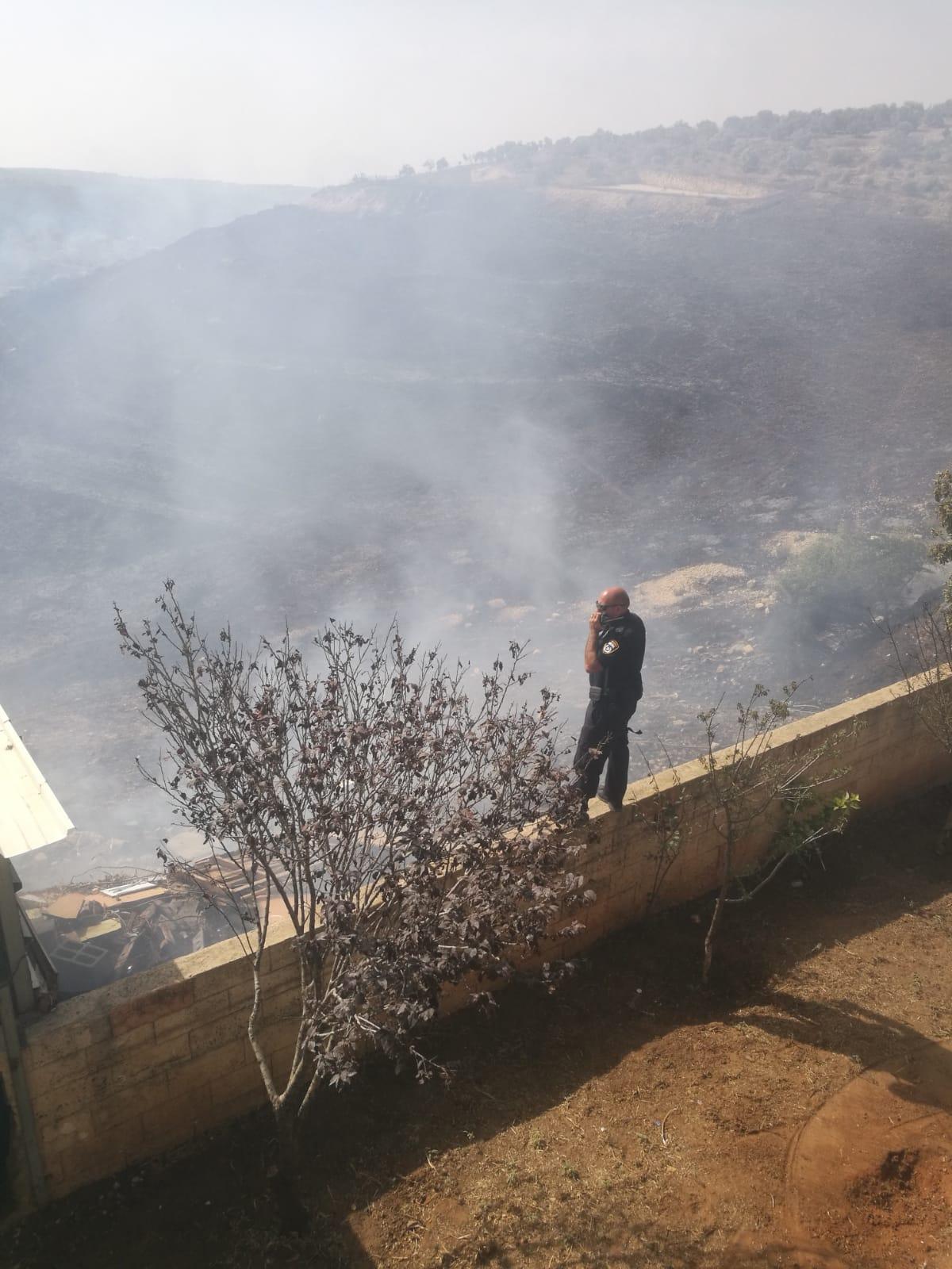 أم الفحم: إخلاء منازل إثر اندلاع حريق