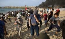 قطاع غزة: 20 إصابة متفاوتة في المسير البحري الـ13