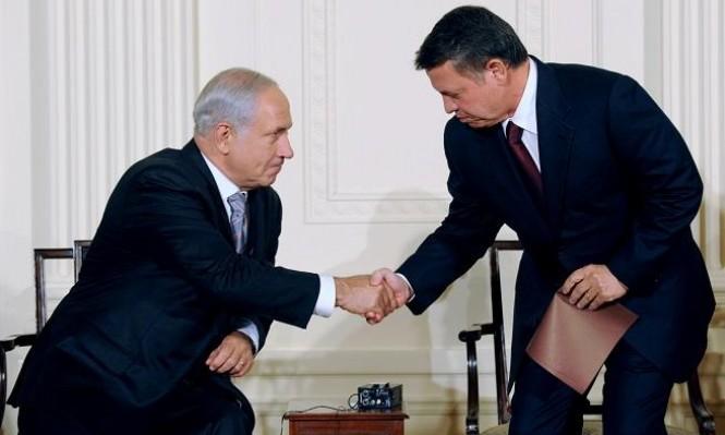 """إسرائيل """"خائبة الأمل"""" من إعلان الأردن استعادة الباقورة والغمر"""