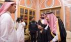 الملك السعوديّ وابنه