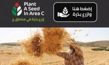 """""""ازرع بذرة في مناطق ج"""" حملة لمساندة الزراعة الفلسطينية"""