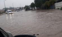 فيضانات شرقي البلاد وسيول في مدن الساحل الشمالي