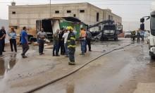 إصابة عاملين في بيسان