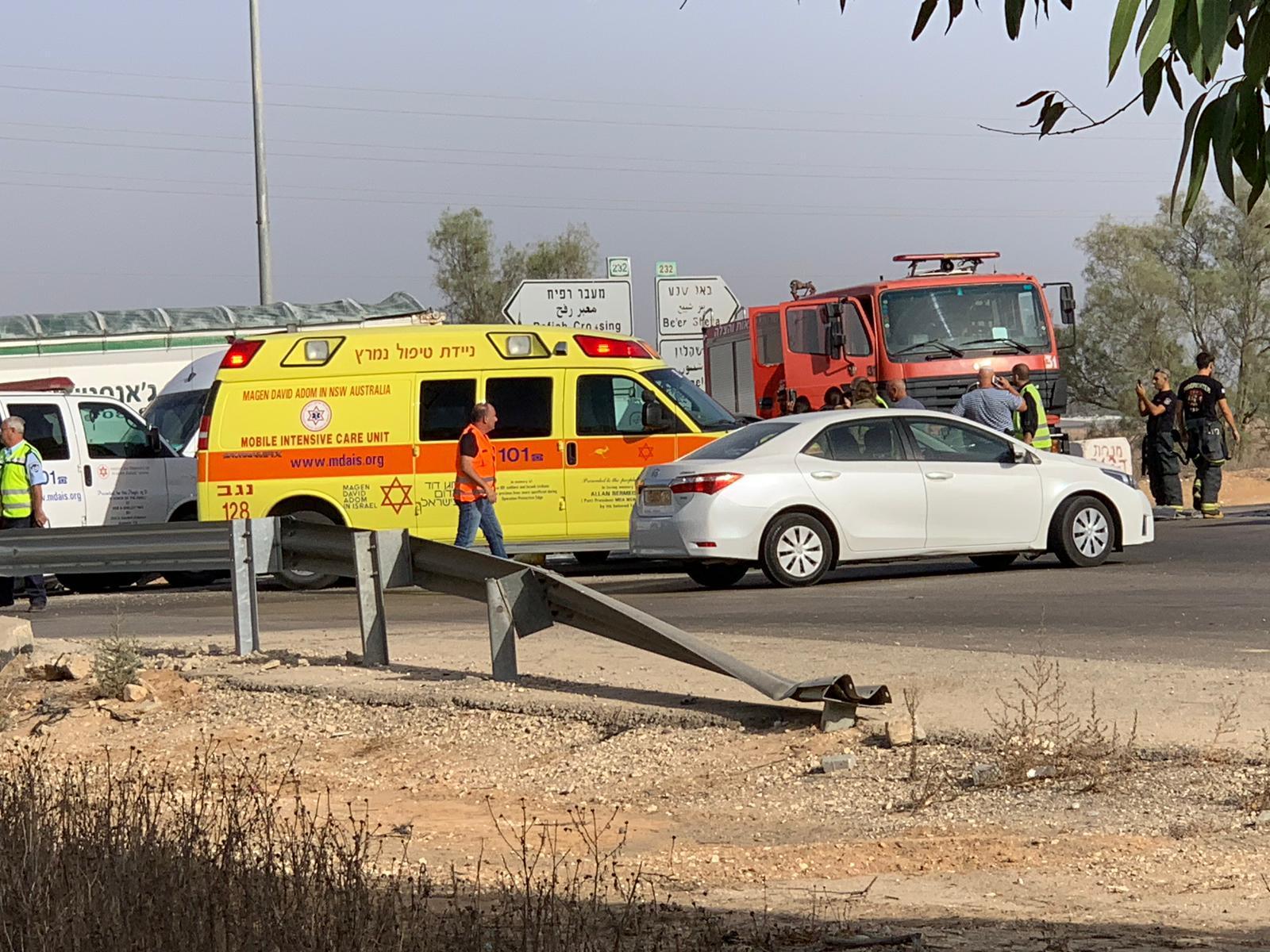 النقب: مصرع شاب في حادث طرق