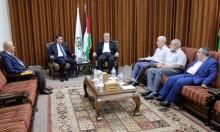 """وفد المخابرات المصرية يلتقي قيادة """"حماس"""" في غزة"""