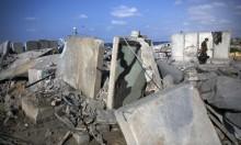 الاحتلال يقصف عدة مواقع في قطاع غزة