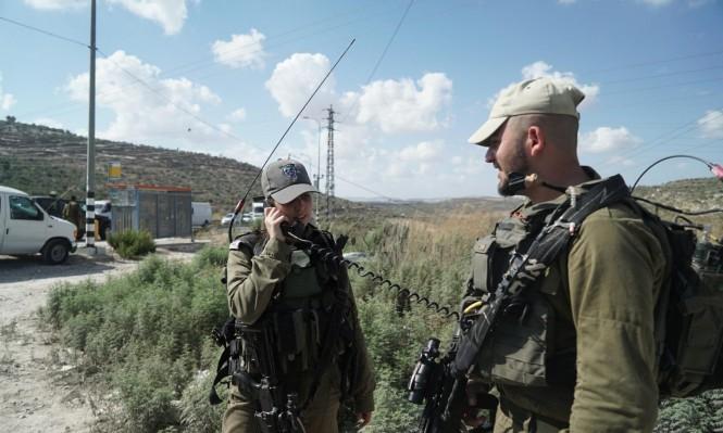 مناورات عسكرية للاحتلال قرب نابلس