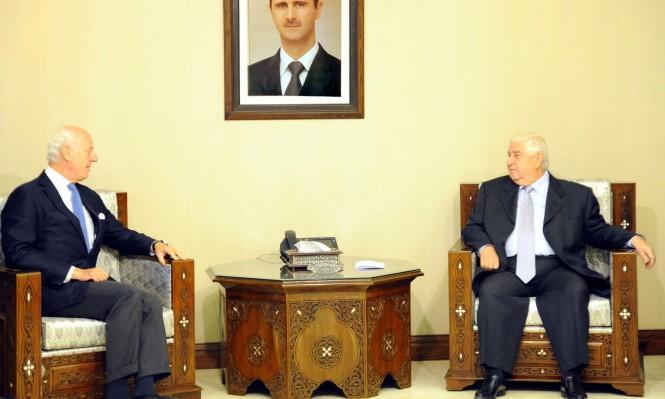 النظام السوري يرفض دور الأمم المتحدة في اللجنة الدستورية