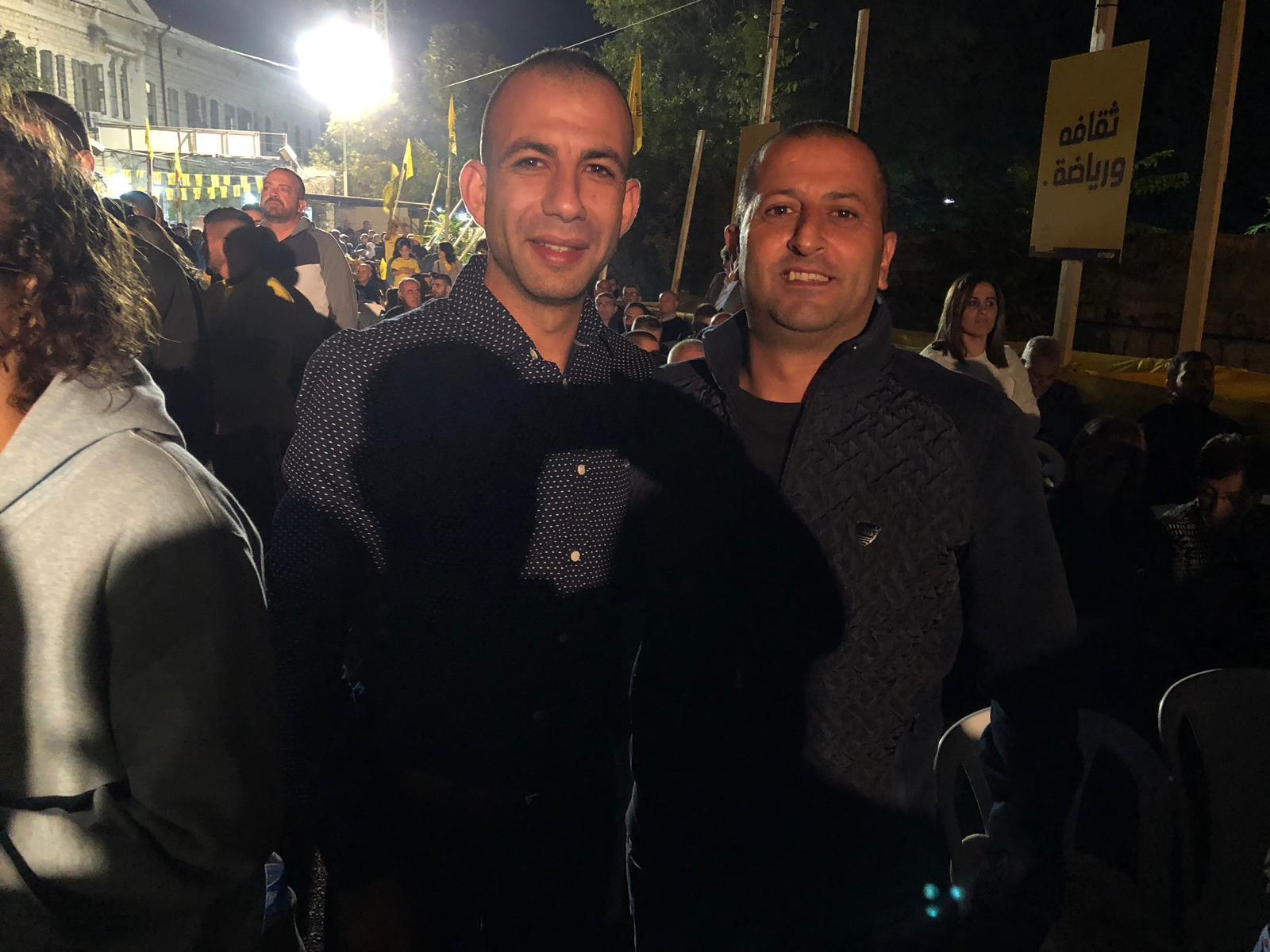 الناصرة: آلاف يشاركون في مهرجان مرشح الرئاسة العفيفي