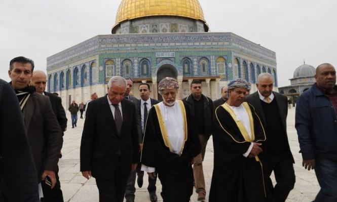 وزير عماني: مسقط تسعى لتقارب إسرائيلي فلسطيني