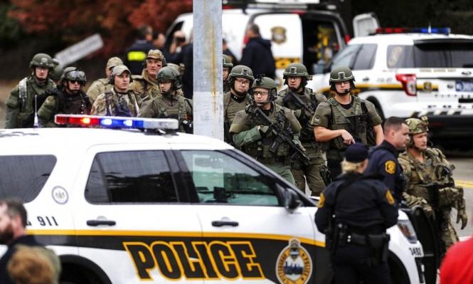 قتلى وجرحى في إطلاق نار داخل كنيس بولاية بنسلفانيا