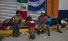 """في """"يوم الموتى"""": ترامب يتوعد باعتراض آلاف المهاجرين"""