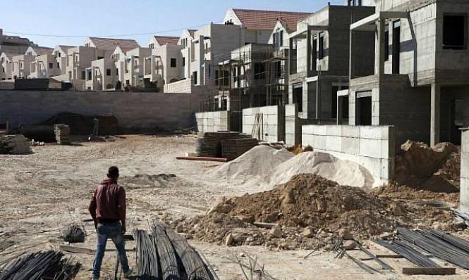 """مخطط لبناء 20 ألف وحدة سكنية بمستوطنة """"معاليه أدوميم"""""""