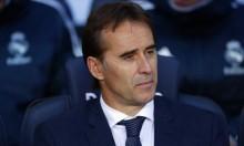 مدرب ريال مدريد يودع لاعبيه بعد الكلاسيكو