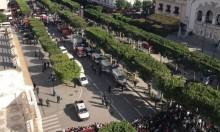 امرأة تفجر نفسها بقلب العاصمة التونسية
