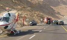 """حادث البحر الميت: مصرع 8 من مستوطني """"بساغوت"""""""
