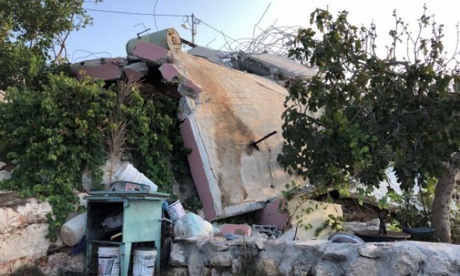 هدم 45 منزلا فلسطينيا لعائلات منفذي عمليات خلال 3 سنوات