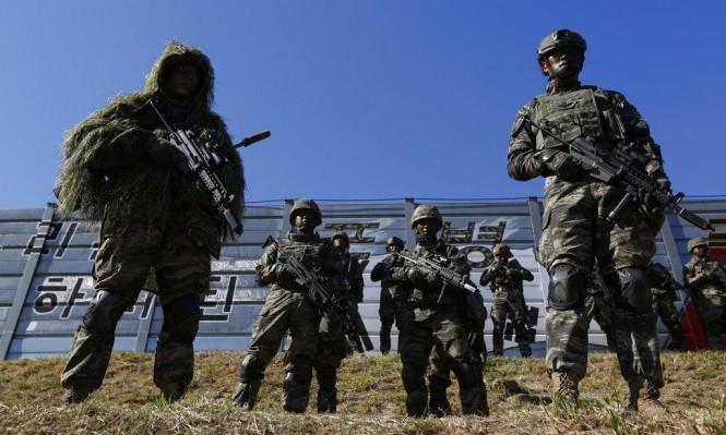 حظر الطيران والمناورات العسكرية بالمناطق الحدودية بين الكوريتين